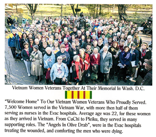 Touched By An Angel-Women Veterans Site